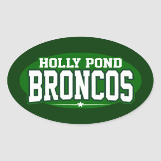 Holly Pond High School; Broncos Sticker