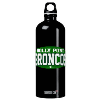 Holly Pond High School; Broncos Water Bottle