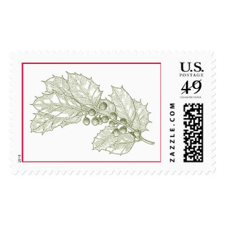 Holly Postage