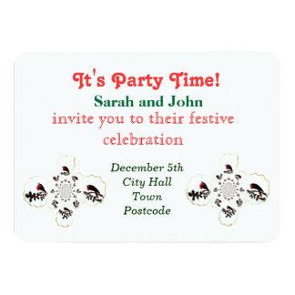 Holly Robin Festive Fun Card