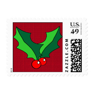 Holly Small Stamp