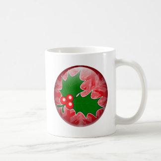 Holly Sprig Coffee Mug