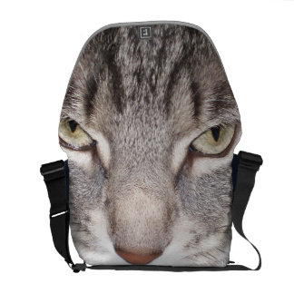 Holly the Cat Messenger Bags