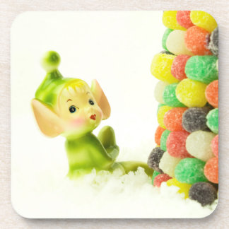 `Holly the Pixie Elf Drink Coaster