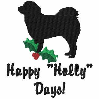 Holly Tibetan Mastiff Embroidered Shirt