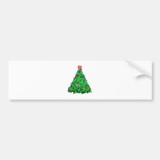 Holly Tree Bumper Sticker