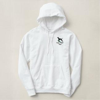 Holly Vizsla Embroidered Hooded Sweatshirt
