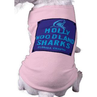 HOLLY WOODLAND SHARKS FLORIDA Chapter Dog Tee