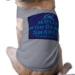 HOLLY WOODLAND SHARKS TEXAS Chapter Dog T-shirt