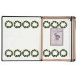 Holly Wreath iPad Cases