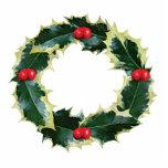 Holly Wreath Photo Sculpture