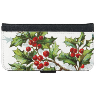 HollyBerries20150802 Wallet Phone Case For iPhone 6/6s