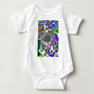 Hollyhock coloreado multi body para bebé