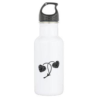 hollyhock de la Dos-hoja Botella De Agua