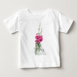 Hollyhocks Baby T-Shirt