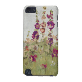 Hollyhocks by the Sea iPod Touch (5th Generation) Cases