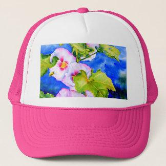 Hollyhocks Trucker Hat