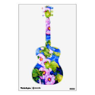 Hollyhocks Wall Decal