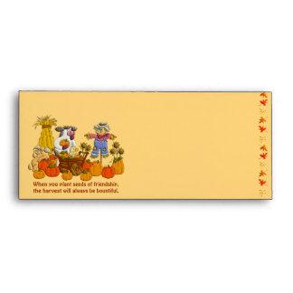 Holly's Friendship Harvest Envelope