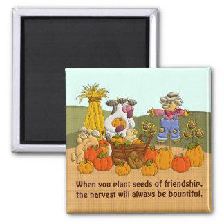 Holly's Friendship Harvest Refrigerator Magnet