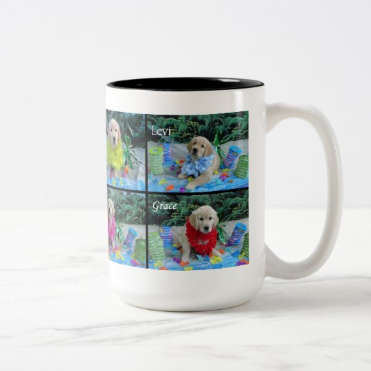 Holly's Half Dozen Luau mug