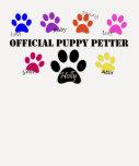 Holly's Half Dozen Official Puppy Petter baseball T-shirt