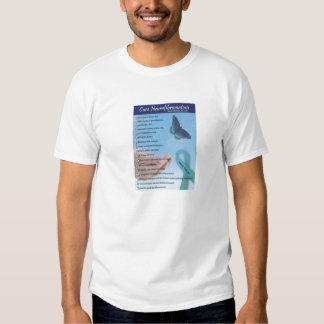 Holly's NF2 Poem T-shirts
