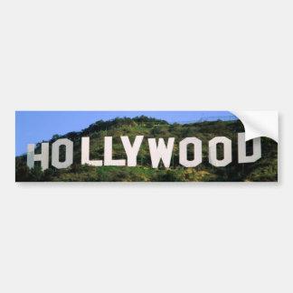 hollywood-1600x1200 bumper sticker