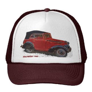 Hollywood 1940 American Bantam Mesh Hats