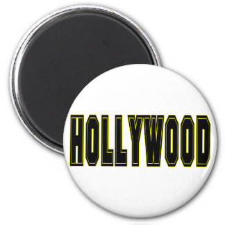 Hollywood 2 Inch Round Magnet