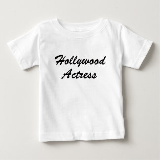 Hollywood Actress Baby T-Shirt