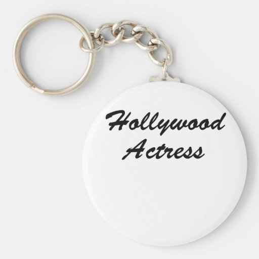 Hollywood Actress Keychain