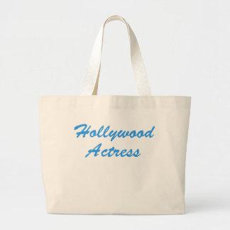 Hollywood Actress Large Tote Bag