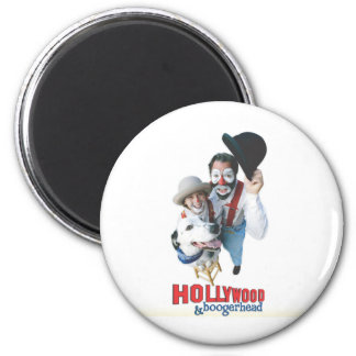 Hollywood and Boogerhead Magnet