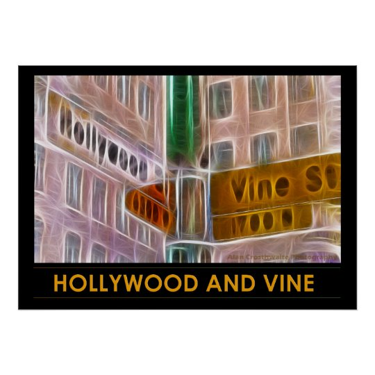 Hollywood And Vine Poster