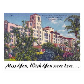 Hollywood Beach Hotel, Hollywood, Florida Postcard