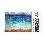 """Hollywood Beach"" Stamp"
