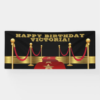 Hollywood Birthday Party Banners