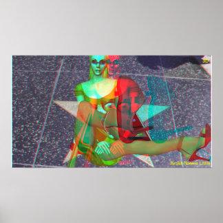 Hollywood Blvd 3D Girl Poster # 2