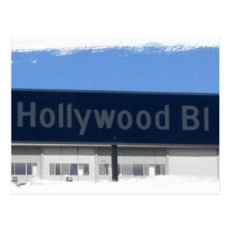 Hollywood Blvd Postcard