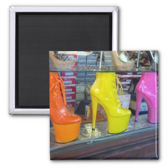 Hollywood Blvd Shoes Magnet