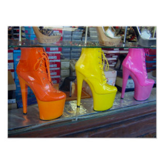 Hollywood Blvd Shoes Poster