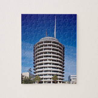 Hollywood Boulevard Capitol Records Jigsaw Puzzle