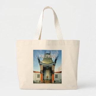 Hollywood Boulevard Grauman's Chinese Large Tote Bag