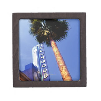 Hollywood Boulevard, Los Angeles Keepsake Box