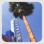Hollywood Boulevard, Los Ángeles Colcomanias Cuadradas