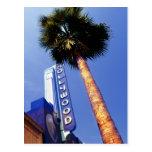 Hollywood Boulevard, Los Angeles Postcard