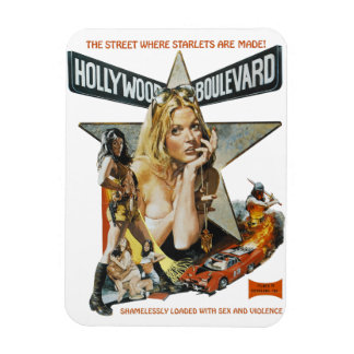 Hollywood Boulevard Magnet