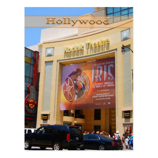 Hollywood Boulevard Theatre Postcard