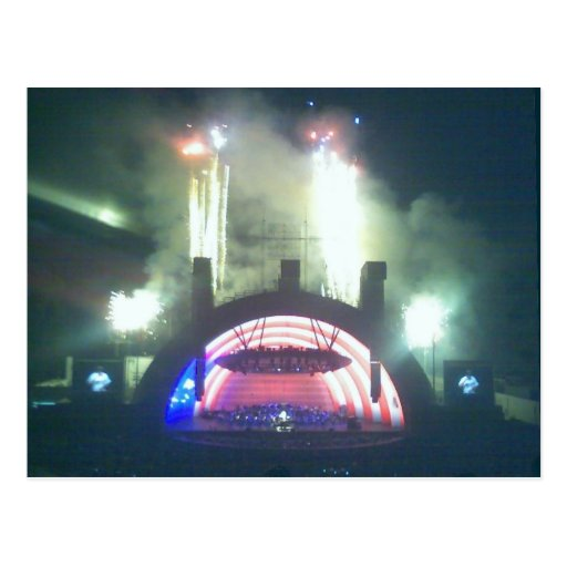 Hollywood Bowl on the Fourth Post Card
